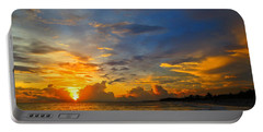 Sunset In Paradise - Beach Photography By Sharon Cummings Portable Battery Charger