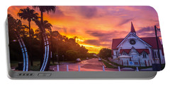 Sunset In Sandgate Portable Battery Charger