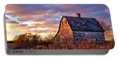 Sunset In The Country Portable Battery Charger by Nikolyn McDonald