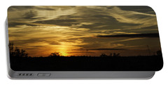 Sunset In The Forest Portable Battery Charger