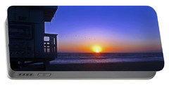 Sunset In Venice Portable Battery Charger