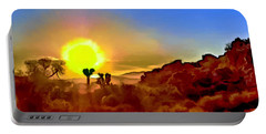 Sunset Joshua Tree National Park V2 Portable Battery Charger