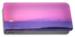Sunset Portable Battery Charger by Spikey Mouse Photography