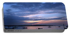 Portable Battery Charger featuring the photograph Sunset by Karen Silvestri