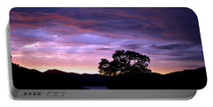 Portable Battery Charger featuring the photograph Sunset Lake by Matt Harang