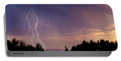 Sunset Lightning Portable Battery Charger