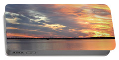 Sunset Magic Portable Battery Charger by Cynthia Guinn