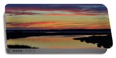 Sunset Marsh Portable Battery Charger