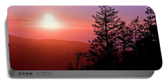 Sunset Off Mt Erie Washington Art Prints Portable Battery Charger