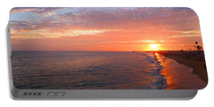 Sunset On Balboa Portable Battery Charger