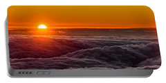 Sunset On Cloud City 1 Portable Battery Charger