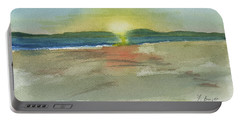 Sunset On Hilton Head Island Portable Battery Charger by Frank Bright