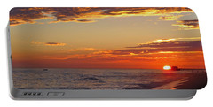 Sunset On Newport Beach Portable Battery Charger