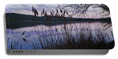 Sunset On Rockland Lake - New York Portable Battery Charger