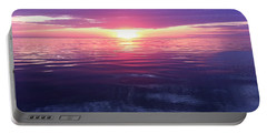 Portable Battery Charger featuring the photograph Sunset On The Bay by Tiffany Erdman