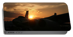 Sunset On The Cold War Portable Battery Charger by David S Reynolds