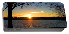 Sunset On The Potomac Portable Battery Charger