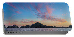 Portable Battery Charger featuring the photograph Sunset Over Cabo by Sebastian Musial