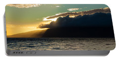 Sunset Over Lanai   Portable Battery Charger