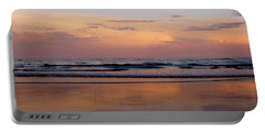 Sunset Over Long Sands Beach II Portable Battery Charger