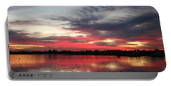 Sunset Over Mission Bay  Portable Battery Charger
