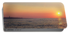 Sunset Over Montauk Portable Battery Charger