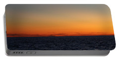 Portable Battery Charger featuring the photograph Sunset Over Point Lookout by John Telfer