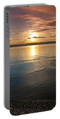 Sunset Over Puget Sound Portable Battery Charger