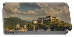 Sunset Over Salzburg Portable Battery Charger
