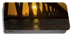 Sunset Over Sanibel Island Photo Portable Battery Charger