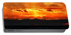 Sunset Over Sound Portable Battery Charger