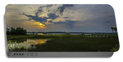 Sunset Over The Wando Portable Battery Charger