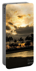 Sunset Over Waikiki Portable Battery Charger