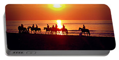 Sunset Past Time Portable Battery Charger