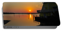 Sunset Reflections Portable Battery Charger by Jim Brage