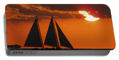 Key West Sunset Sail 3 Portable Battery Charger