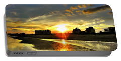 Portable Battery Charger featuring the photograph Sunset by Savannah Gibbs