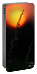 Sunset Seed Silhouette Portable Battery Charger