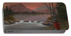Sunset Serenade Portable Battery Charger