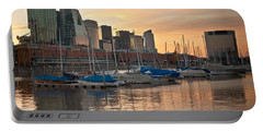 Portable Battery Charger featuring the photograph Buenos Aires Sunset by Silvia Bruno