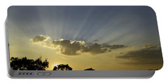 Sunset Sunrays Portable Battery Charger