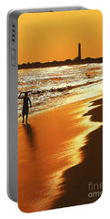 Sunset Surfer Portable Battery Charger