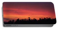 Sunset Tones Portable Battery Charger by Tom Culver