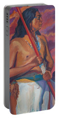 Sunset Warrior Portable Battery Charger