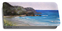 Sunshine Beach Qld Australia Portable Battery Charger by Chris Hobel