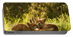 Sunshower Portable Battery Charger by Roeselien Raimond