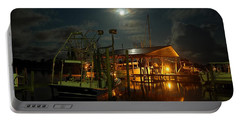 Super Moon At Nelsons Portable Battery Charger