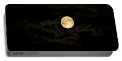 Super Moon Portable Battery Charger by Spikey Mouse Photography