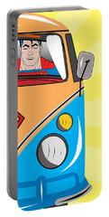 Superman 4 Portable Battery Charger by Mark Ashkenazi