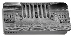 Portable Battery Charger featuring the photograph Supreme Court by Peter Lakomy